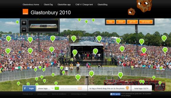 Festival de Glastonbury.