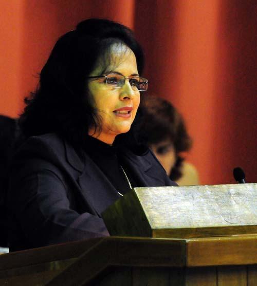 Grisel Castro, presidenta de la Comisión de Asuntos Económicos. Foto: Jorge Luis González.