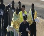inmigrantes-madrugada-Lampedusa- centros de detemcion de inmigrantes