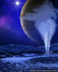 Anuncian viaje no tripulado a luna de Júpiter