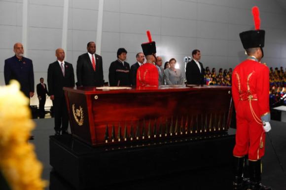 presidentes de Alba y Petrocaribe