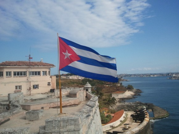 Mi Bandera. Foto: Guillermo Cortés Menéndez
