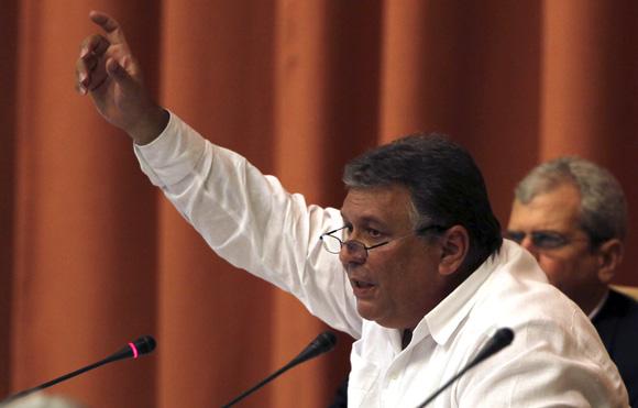 Marino Murillo, Vicepresidente del Consejo de Ministros. Foto: Ladyrene Pérez/Cubadebate.