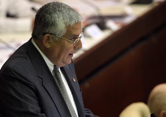 José Luis Toledo, jefe de la Comisión de Asuntos Constitucionales y Jurídicos de la Asamblea Nacional. Foto: Ladyrene Pérez/Cubadebate.
