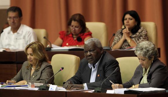 Estebal Lazo, presidente de la Asamblea Nacional. Foto: Ladyrene Perez/Cubadebate.