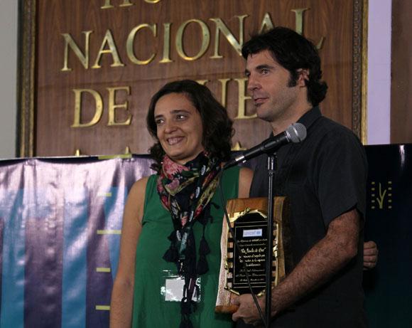 La cinta La jaula de Oro, del realizador hispano-mexicano Diego Quemada-Diez, recibio el premio de la UNICEF. Foto: Ismael Francisco/Cubadebate.