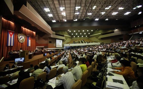 Sesión Plenaria de la Asamblea Nacional. Foto: Ladyrene Perez/Cubadebate.