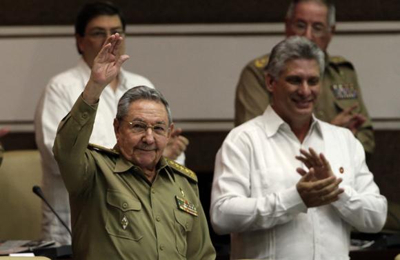 El presidente cubano Raúl Castro, a su llegada a la Asamblea Nacional. Foto: Ismael Francisco/Cubadebate.
