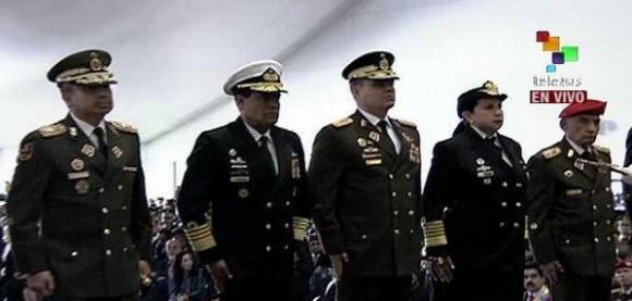 Alto mando militar de Venezuela.