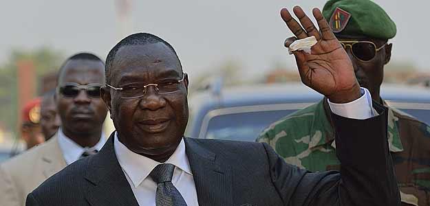 Michel Djotodia, presidente de la República Centroafricana, acaba de dimitir. Foto: RTVE