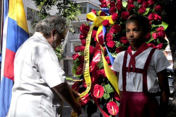 Excelentisimo Señor Edgar Ponce Iturriaga, embajador de la Republica del Ecuador en Cuba.