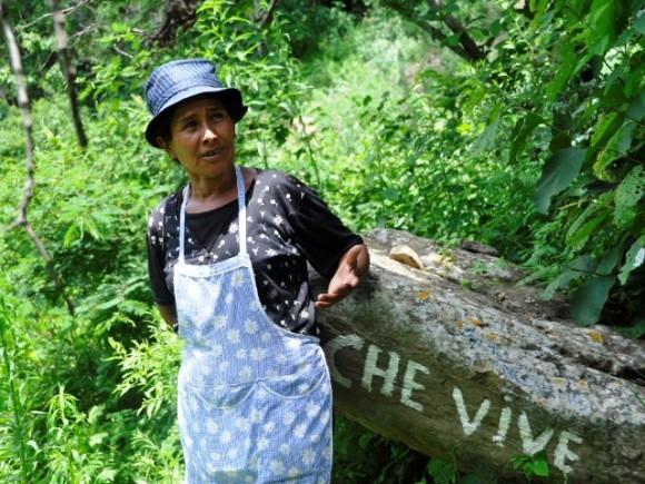 Guadalupe, nuestra guía. Foto: Kaloian.