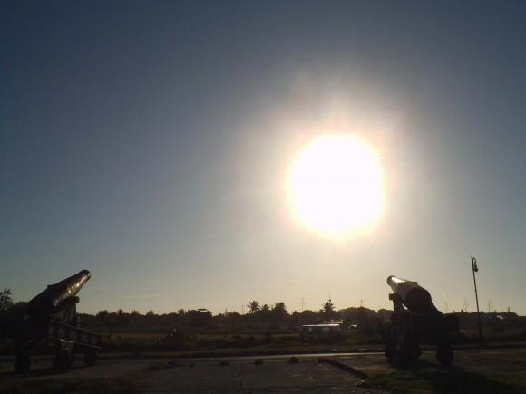 Cañones al Sol. Foto: Darien Medina