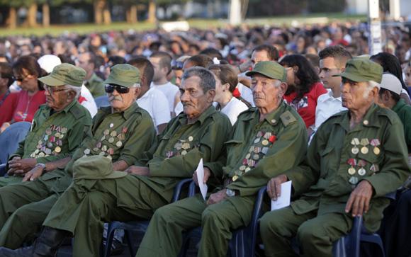 Acto por el 55 Aniversario de la entrada de Fidel a La Habana. Foto: Ismael Francisco/Cubadebate.