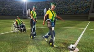 El exosqueleto le permitirá al joven paralítico sentir la senación de patear e balón.
