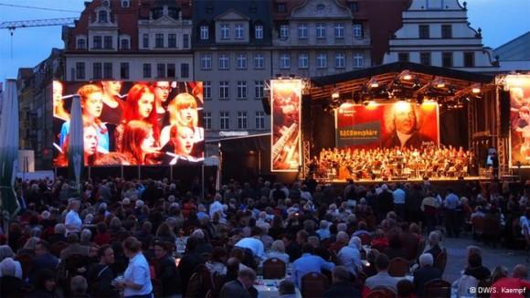 Festival de Bach en Leipzig.