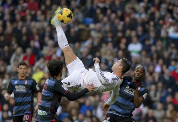 CR7, Gol Y Balón De Oro Para El Santiago Bernabéu (+ Fotos