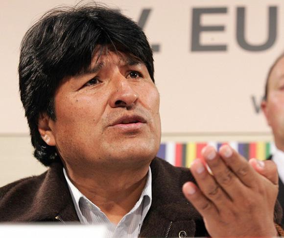 Evo Morales, aspirante a la presidencia