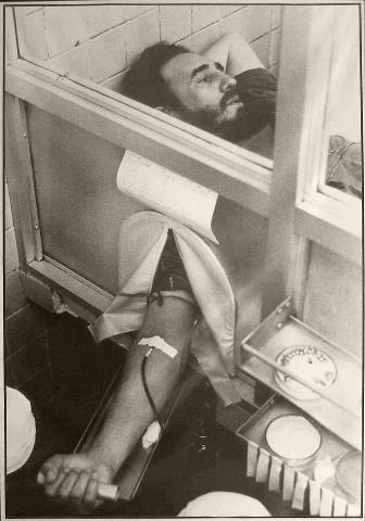 Fidel donó sangra para las víctimas del terremoto de Perú. Foto: Archivo