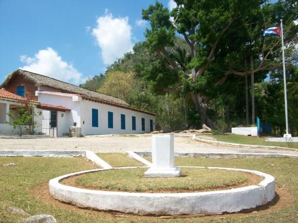 Finca El Abra, lugar donde permaneció José Martí por dos meses y cinco días en la antigua Isla de Pinos. Foto  Arsenio Sanchez