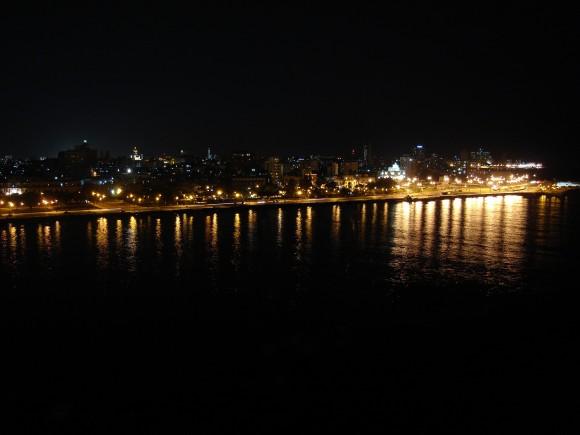 La Habana de noche. Foto: Sergio Cruz Pupo