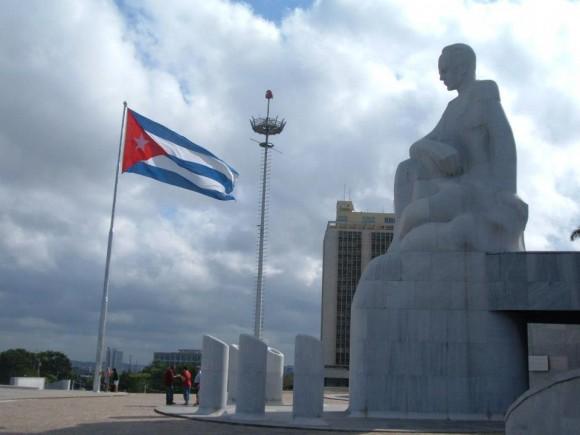 Martí, por mi... Foto: Diego M Vidal