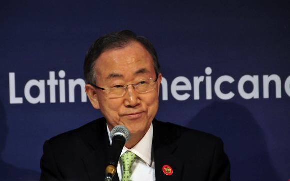 Ban Ki-moon en conference de prensa. Foto: Ladyrene Pérez/ Cubadebate