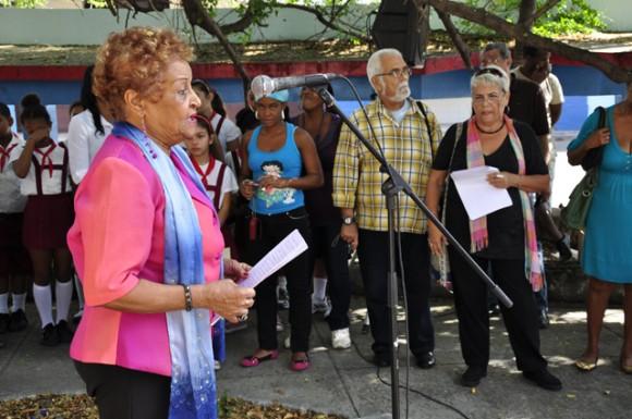 Presidenta en funciones del Comite Eloy Alfaro de Centro Habana.