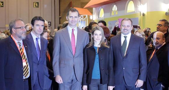 Principe de España en FITUR 2014