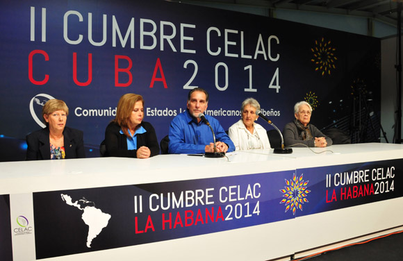 Encuentro de René González y familiares de Los Cinco con la prensa. Foto: Ladyrene Pérez/Cubadebate.