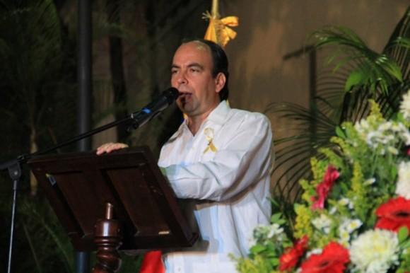 El Embajador Rogelio Polanco.