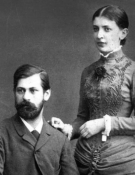 Sigmund Freud y Martha Bernays. Foto: Tomada de http://unapizcadecmha.blogspot.com.