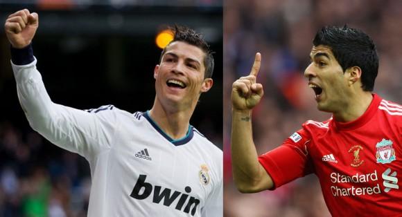 Cristiano y Luis Suarez