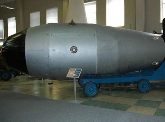 La bomba de hidrógeno soviética, la Bomba Zar, tenía este aspecto.© Wikimedia / Croquant