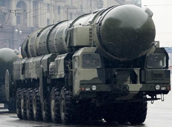 Sistema intercontinental estratégico ruso Topol-M. © REUTERS Grigory Dukor