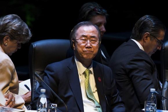 El Secretario General de la ONU, Ban Ki-moon. Foto: AP/ Adalberto Roque