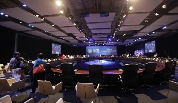A punto de iniciar la Cumbre. Foto: Ismael Francisco/ Cubadebate