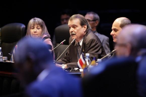 Abelardo Moreno en inauguración de la CELAC. Foto: Ismael Francisco/ Cubadebate