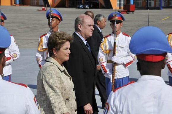 Dilma en La Habana.