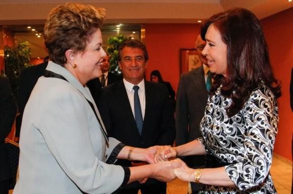 Dilma y Cristina en La Habana. Foto: Itamaraty.