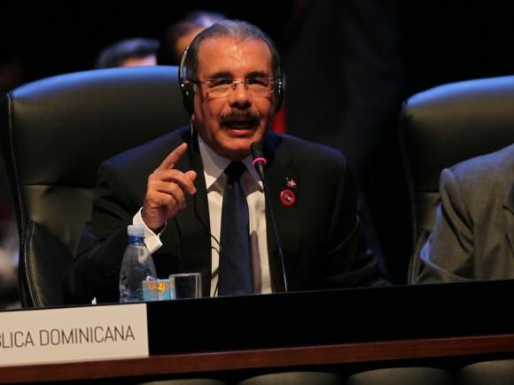 Danilo Medina, presidente de República Dominicana. Foto: Ismael Francisco/ Cubadebate