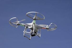 Drone en una feria de productos electrónicos en Las VegasFoto: AP