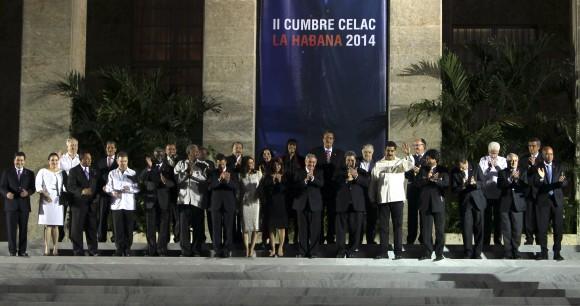 Foto de Familia de la II Cumbre de la CELAC. Foto: Ismael Francisco/ Cubadebate