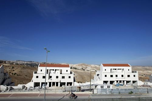 Asentamientos Israel-Palestina