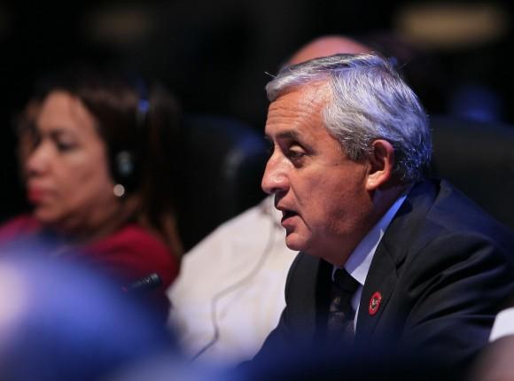 Otto Pérez Molina, Presidente de Guatemala. Foto: Ismael Francisco/ Cubadebate