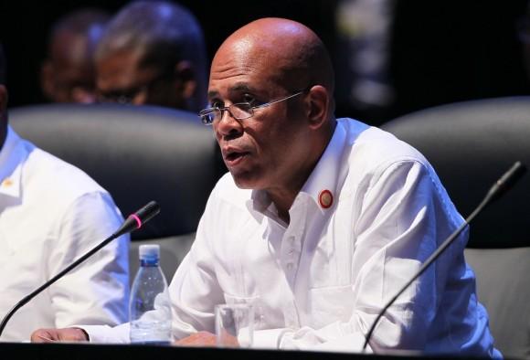 Michel Martelly, presidente de Haití, en la Cumbre. Foto: Ismael Francisco/ Cubadebate