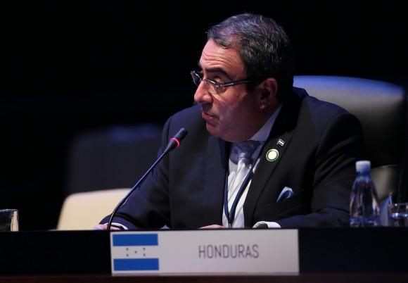 Vicecanciller de Honduras, Roberto Ochoa. Foto: Ismael Francisco/ Cuba