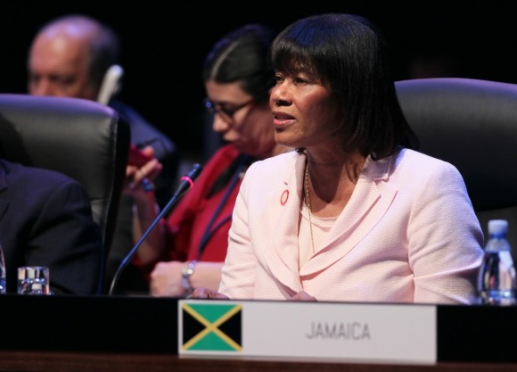 Portia Simpson. Foto: Ismael Francisco/ Cubadebate