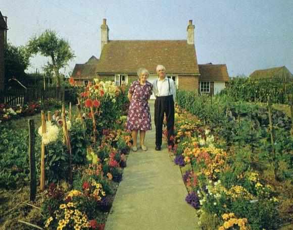 La cuarta imagen de la serie de doce realizada en 1973 por el fotógrafo Ken Griffiths.