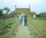 La segunda imagen de la serie de doce realizada en 1973 por el fotógrafo Ken Griffiths.